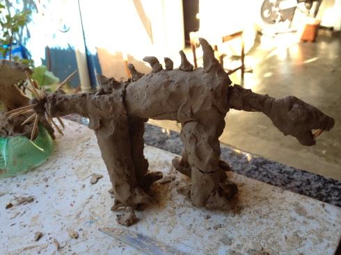 dinossauro argila loretto